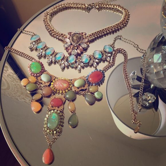 Aldo Statement Necklaces 3 for $30